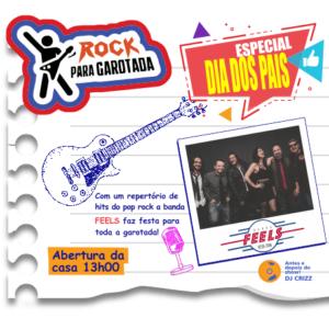 ROCK PARA GAROTADA – BANDA FEELS