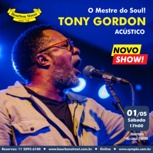 17h00 • Tony Gordon