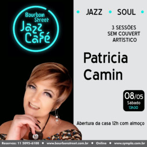 12h00 • Patricia Camin • BS Jazz Cafe