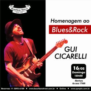 18h00 • Gui Cicarelli @ Homenagem ao Blues Rock