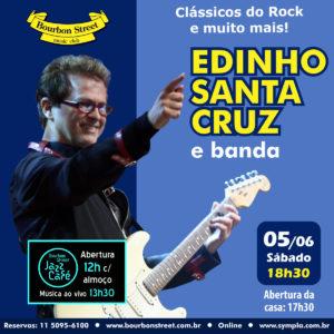 18h30 • Edinho Santa Cruz e Banda
