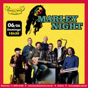 18h30 • Marley Nights @ Tributo ao Bob Marley