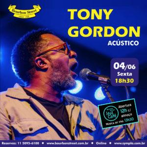 18h30 • Tony Gordon