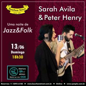 18h30 • Sarah Avila & Peter Henry