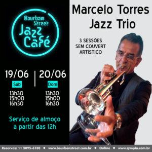 13h30 • Marcelo Torres Jazz Trio • BS Jazz Cafe