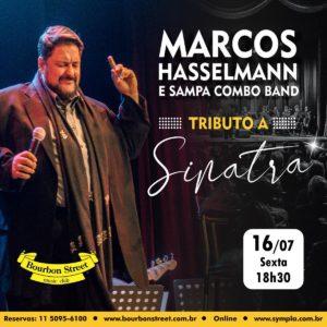 20h00 • Marcos Hasselman • Tributo ao Frank Sinatra @ Tributo ao Frank Sinatra