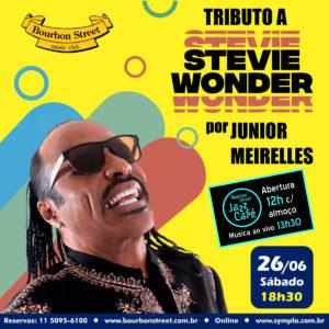 18h30 • Junior Meireles • Tributo ao Stevie Wonder