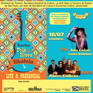 17h00 • Ilhabela Folk & Blues Ilhabela