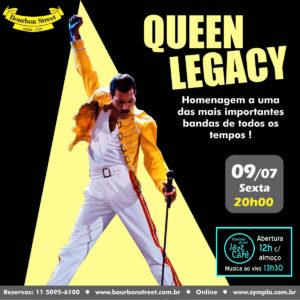 20h00 • Queen Legacy
