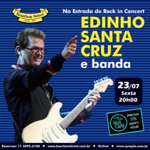 20h00 • Edinho Santa Cruz e Banda