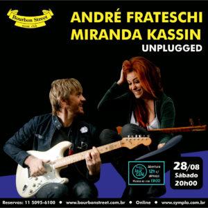 21h00 • Andre Frateschi & Miranda Kassin