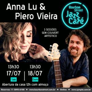 13h30 • Anna Lú & Piero Vieira • BS Jazz Cafe