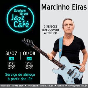 13h30 • Marcinho Eiras • BS Jazz Cafe