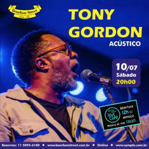 20h00 • Tony Gordon