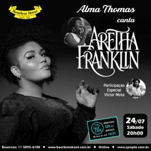 20h00 • Alma Thomas • Aretha Franklin