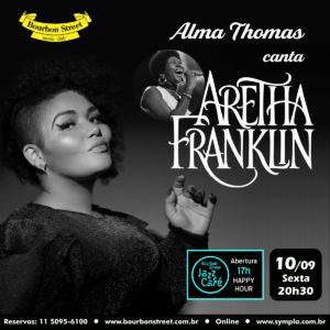 21h00 • Alma Thomas • Aretha Franklin