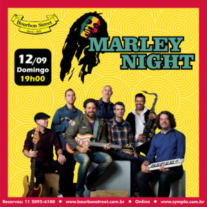 19h30 • Marley Night • Bob Marley