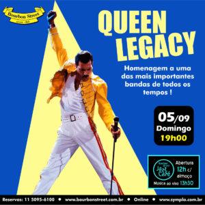 20h30 • Queen Legacy
