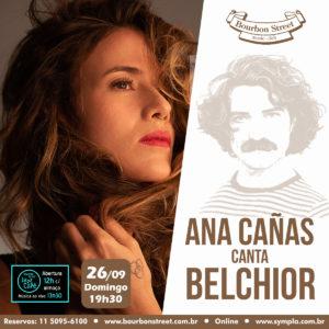 19h30 • Ana Cañas canta Belchior