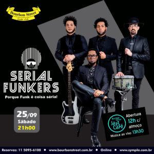 21h00 • Serial Funkers