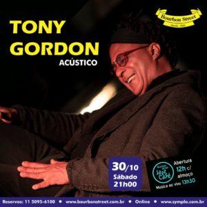 21h00 • Tony Gordon