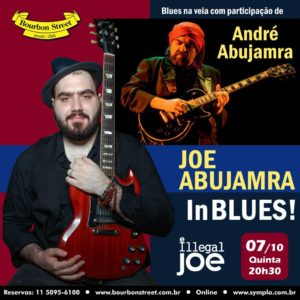 21h00 • Joe Abujamra