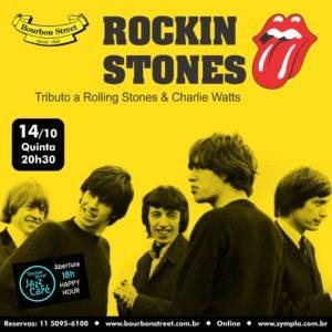 21h00 • Rockin Stones • Homenagem a Charlie Watts