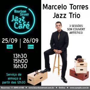 13h30 • Marcelo Torres Jazz Trio • BS Jazz Café