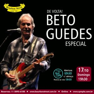 19h30 • Beto Guedes