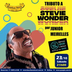 21h00 • Junior Meirelles • Stevie Wonder
