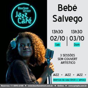 13h30 • Bebé Salvego • BS Jazz Café
