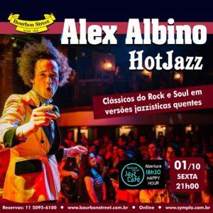21h00 • Alex Albino Quarteto