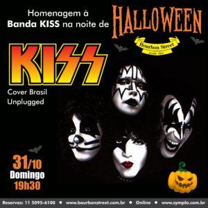 19h30 • KISS Cover Brasil Unplugged • HALLOWEEN