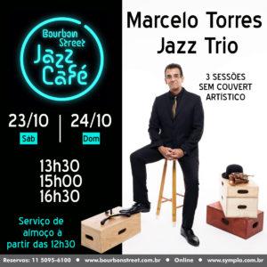 13h30 • BS Jazz Café • Marcelo Torres Trio